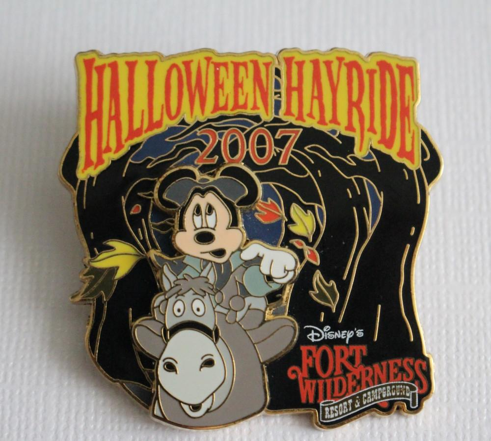 Mickey Mouse Halloween Hayride