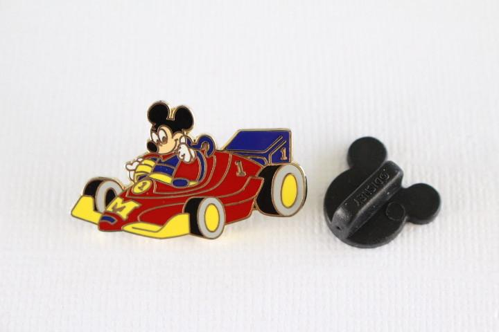 Mickey Race Car