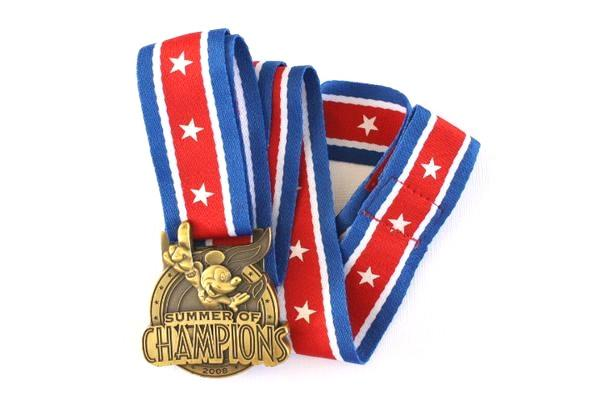 Pin Lanyard with Medal - Summer of Champions