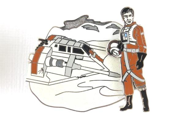 Rebel Pilot with Snowspeeder