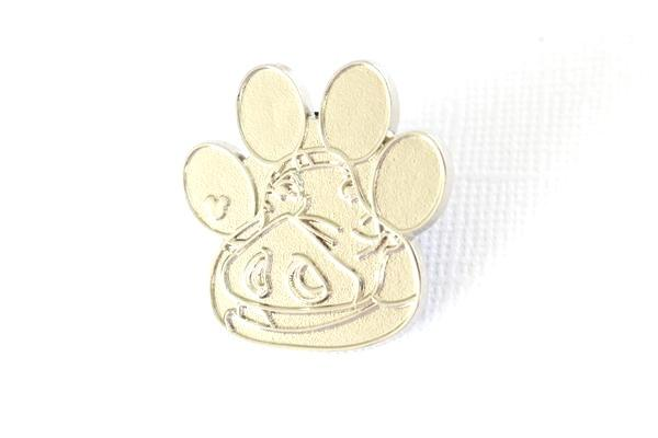 Silver Chaser Pumbaa Paw Print - 2017 Hidden Mickey