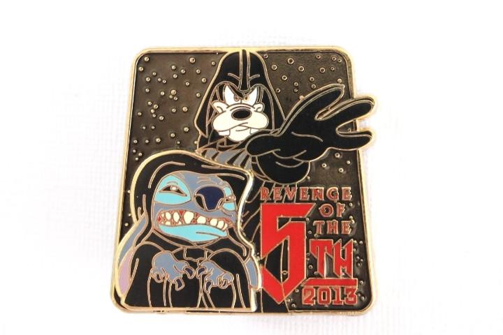 Rare Star Wars - Stitch Palpatine and Vader Goofy