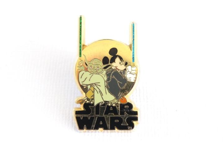 Yoda and Mickey - Star Wars