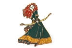Merida with Bow - Glitter