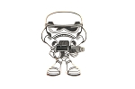 Stormtrooper Cute Star Wars Character