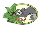 Baloo Putting Mowgli to Sleep - Jungle Book