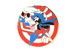 Uncle Sam Patriotic Goofy