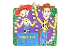 Woody and Jessie Toy Story Paint the Night