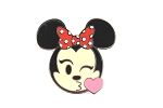 Blow Kiss - Minnie Emoji